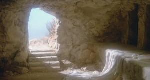 easter empty tomb