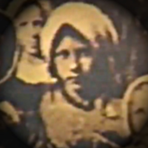 This is believed to be a photograph of Maria, one of only two that are known