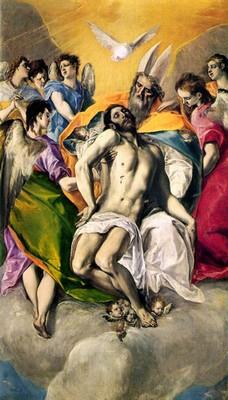 Trinity, El Greco