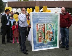 Catholic Grandparents Pilgrimage, Knock Shrine.