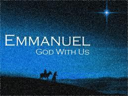 Emmanuel god with us