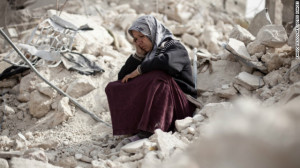 syria civilian aleppo
