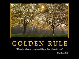 Golden rule 2