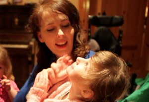 Tracy Harkin with her daughter Kathleen Rose.