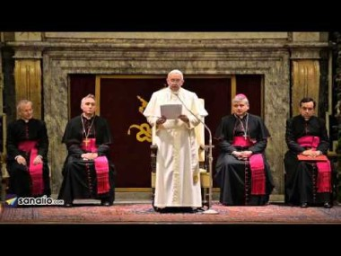 Pope criticises top cCergy for lusting after power instead of gospel issues