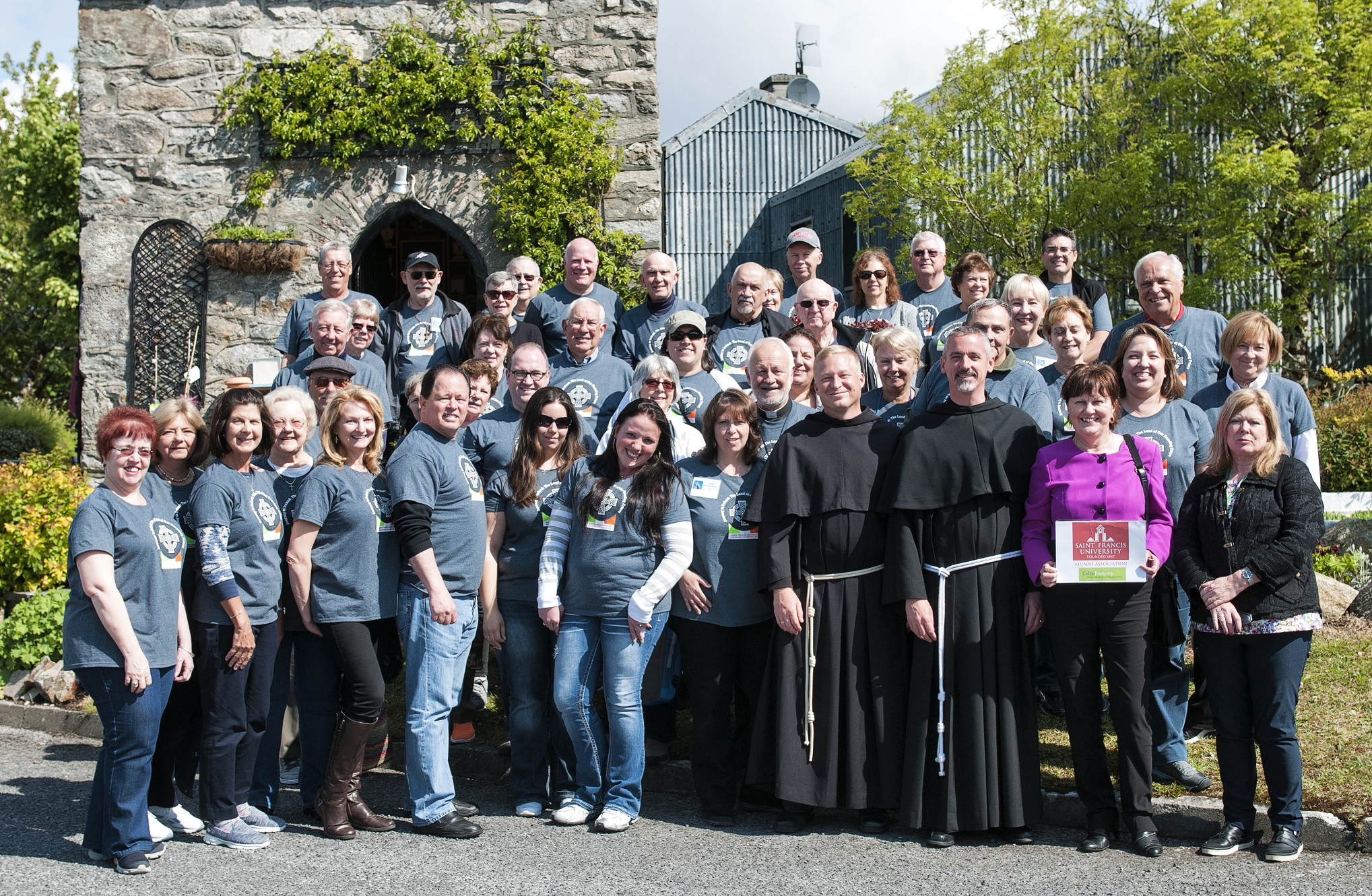 Us franciscans pay tribute to pioneering irish friars for The franciscan