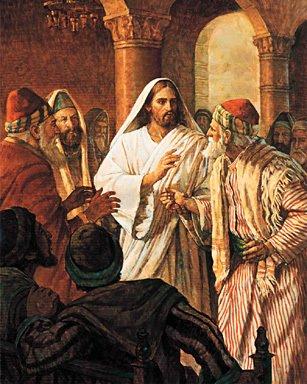 jesus teaches