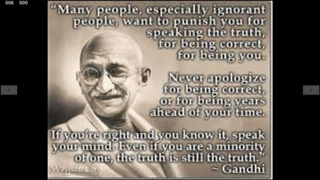 ghandi truth is truth