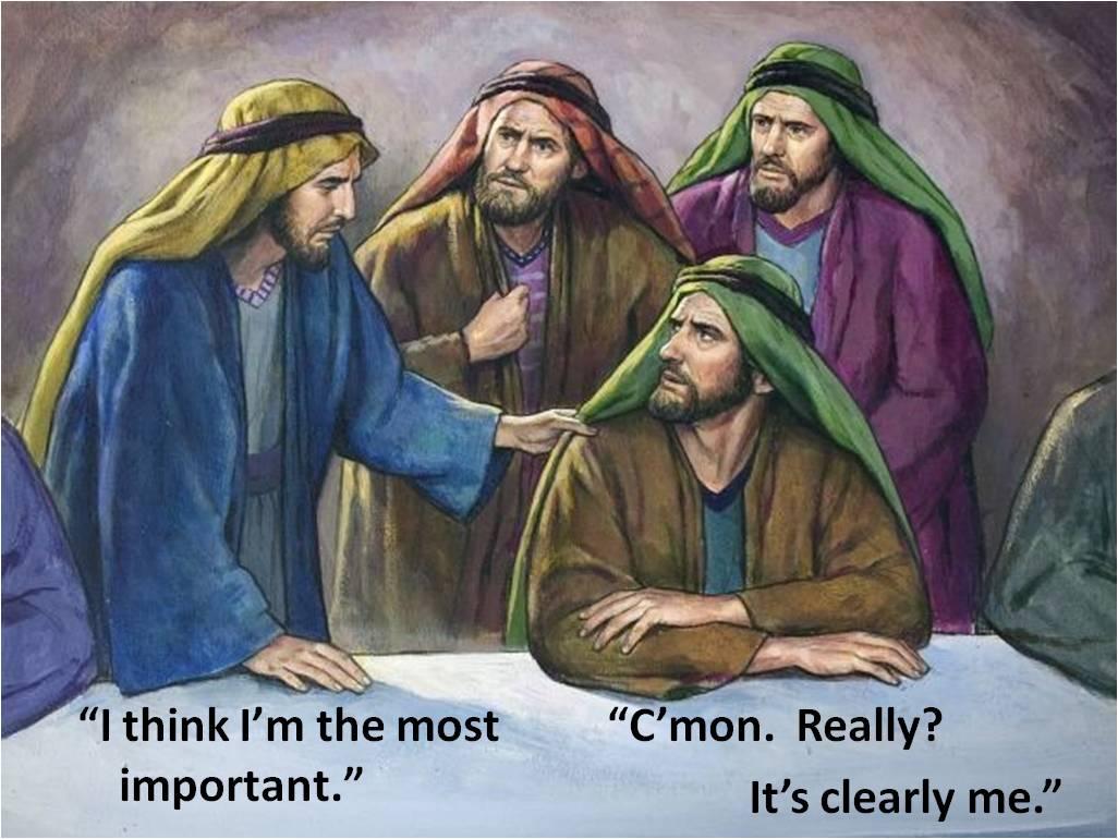 disciples bicker