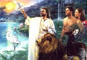 Jesus new adam