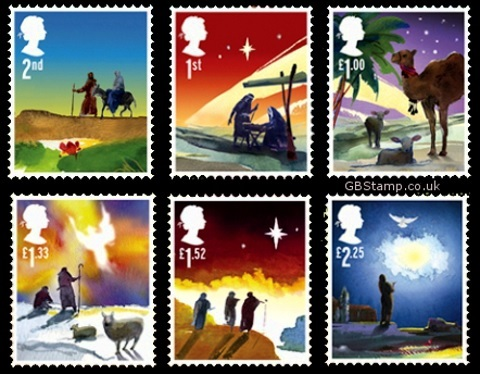 Nativity story features on Christmas stamps - Catholicireland ...