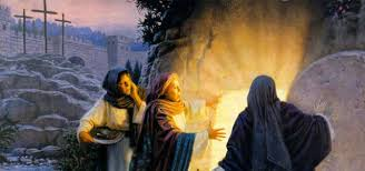 women at the resurrection