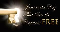 Jesus key to freedom