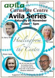 Healing from the Centre @ Avila Carmelite Centre | Donnybrook | County Dublin | Ireland