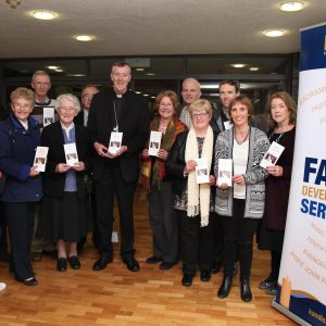 Bishop Denis Nulty at the launch of the Kildare and Leighlin Diocesan guide to Sharing our Faith Everyday, which was produced for Mission Sunday 2016 (Pic. John McElroy).