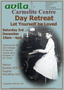 Day Retreat: Let Yourself be Loved @ Avila Carmelite Centre | Donnybrook | County Dublin | Ireland