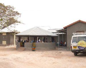 Newly opened care and treatment centre, Bugisi, Tanzania