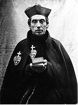Fr Charles wearing the Passionist habit (1851)