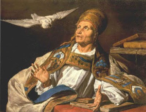 St Gregory and the Holy Spirit