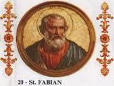 Pope St Fabian