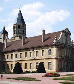 A corner of cluny monastery