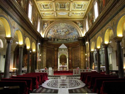 Church of Sant'Agata dei Goti, (Saint Agatha of the Goths,) Rome