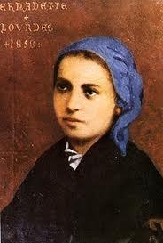 Apr 16 - Saint Bernadette of Lourdes 1844-79 (1) - Catholicireland ...