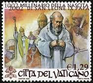 Pope Leo IX stamp