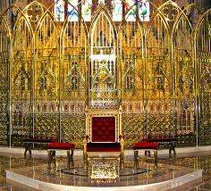 inside Armagh Cathedral