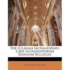 The Gelasian Sacramentary