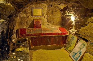 The tomb of Apostle Barnabas in Cyprus.
