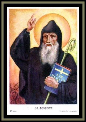 Image result for saint benedict