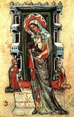 Saint Hedwig in the Schlackenwerth Codex, Lubin