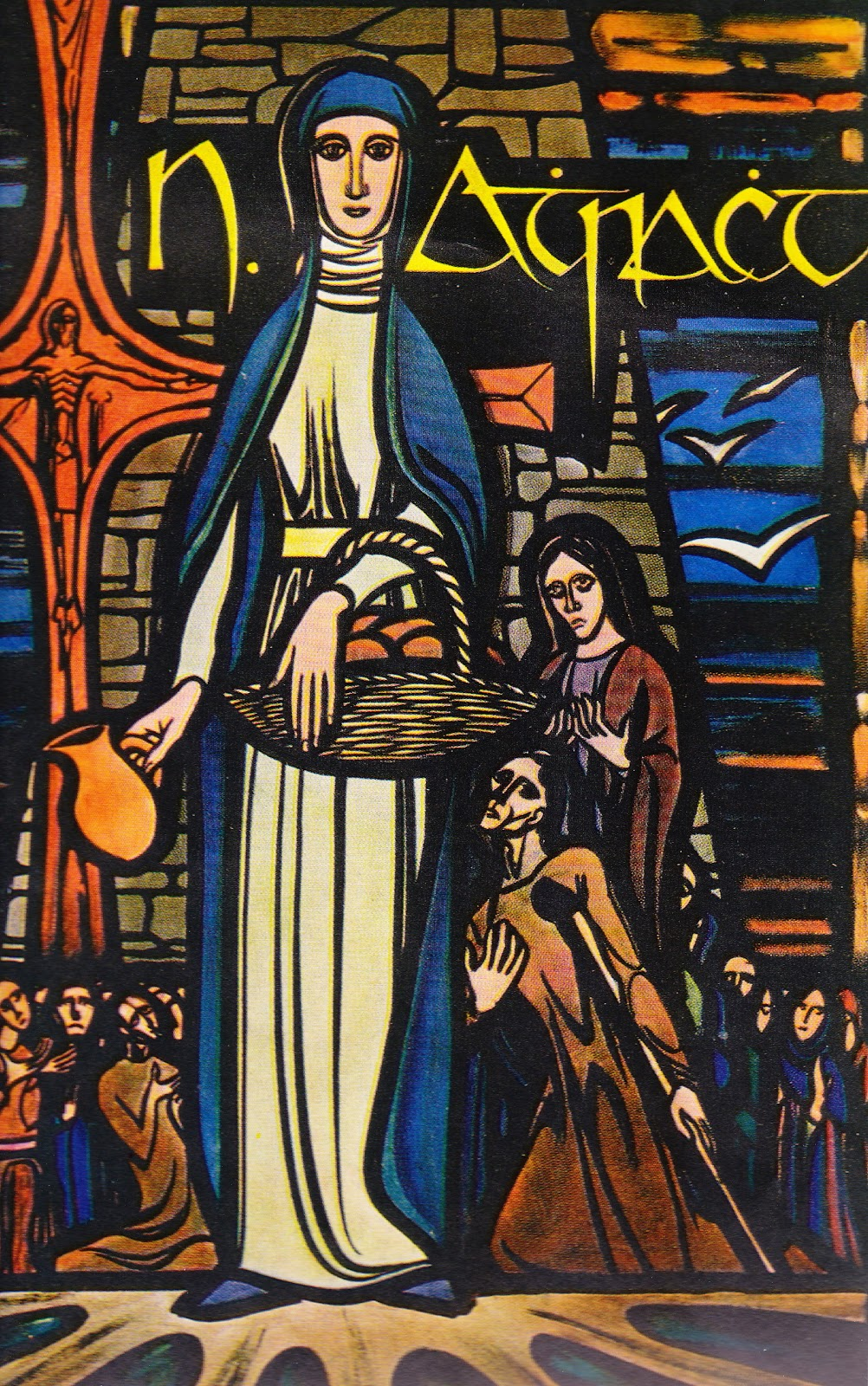 St Attracta and her poor