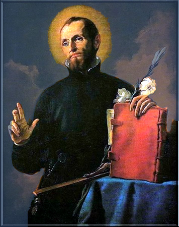 St Cajetan, founder of the Threat