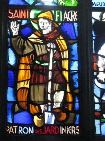 St fiacre, patron of gardeners