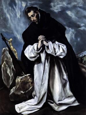 St. Dominic, el greco