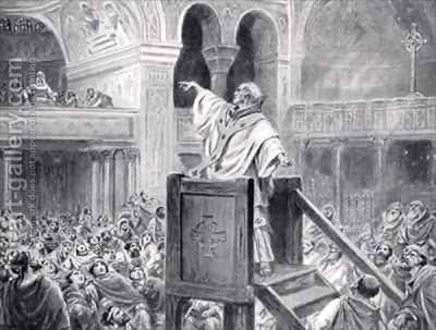 John-Chrysostom-Preaching-In-Constantinople