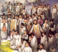 Korean martyra