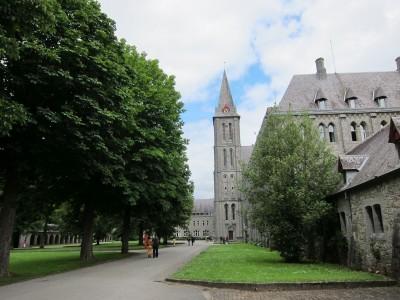 Abbeye de Maredsous in Denee', Belgium. It's a community of Benedictine monks founded in 1872.