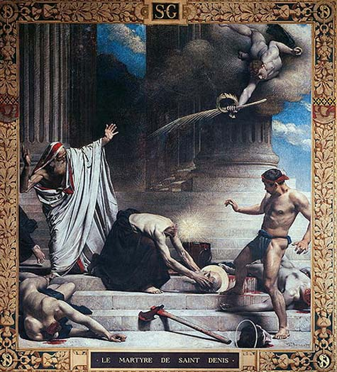 Oct 9 - St Denis, bishop, and companions, martyrs (died ...