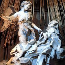 Holy Teresa of Avila in Ecstasy by Bernini in St. Peter's, Rome