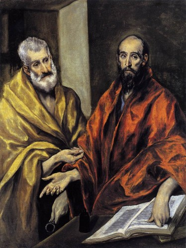 El Greco's - Ss Peter and Paul