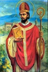St Fergal (or Virgil) lived first in France and then in Bavaria, where he founded the monastery of Chiemsee. He was appointed bishop of Salzburg around 754