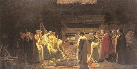 Early Church Burials, Rome