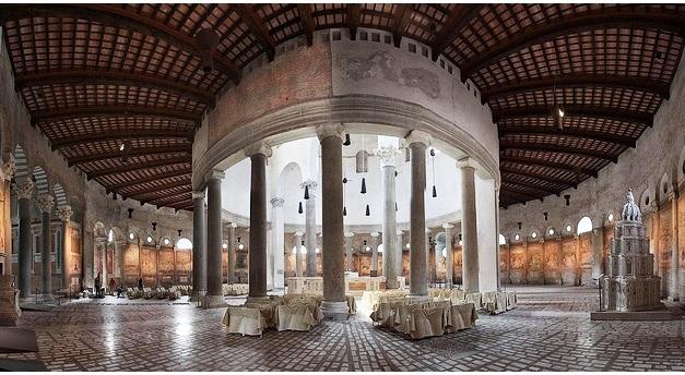 The Basilica of San Stefano Rotondo in Rome