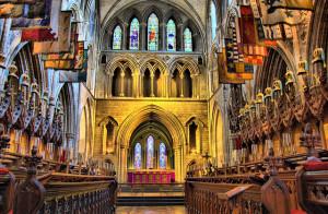 St Patrick's interior