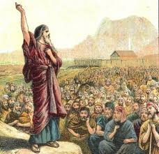 moses speaks to his people
