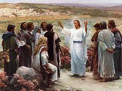 J sends disciples