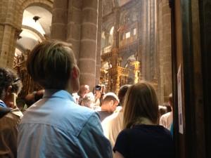 The pilgrims' Mass